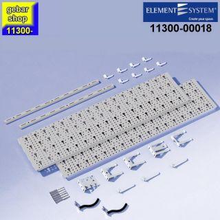 Element System Werkzeug-Aufhängeset 1 Regal 800x400 weißalu