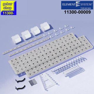 Element System Werkzeug-Aufhängeset 2 Regal 800x400 weißalu