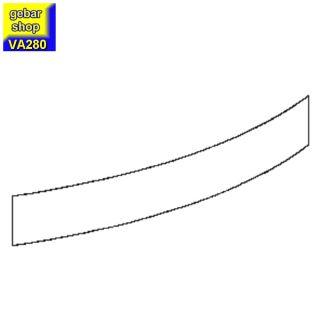 VARIUS Sockelblende gebogen für Counter AB45°