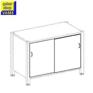 VARIUS Schiebetüren für Verkaufstresen Counter AM100