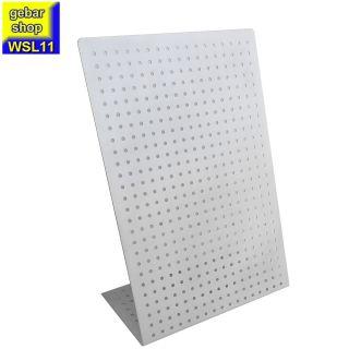 Tischständer einseitig L-Form 27,5x13,5cm Höhe:39cm