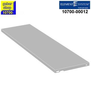 Element System Stahlfachboden 800x250 weiß