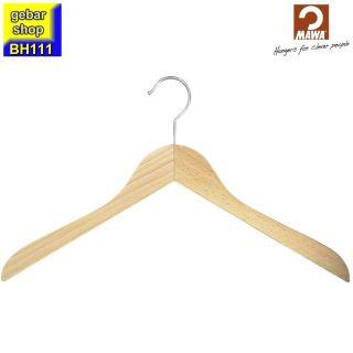 MAWA Holz Kleiderbügel Business 45, Buche