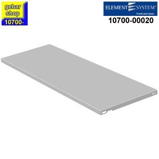 Element System Stahlfachboden 800x300 weiß