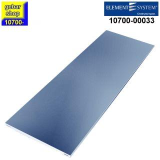 Element System Stahlfachboden 800x350 weißalu