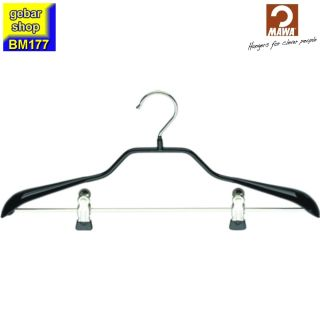 MAWA Metall Kleiderbügel Prestige 40/GK, schwarz