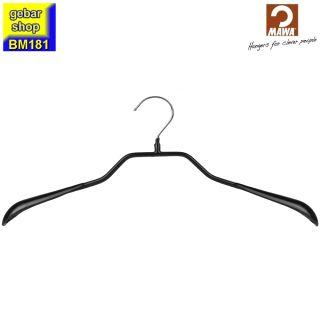 MAWA Metall Kleiderbügel Prestige 46/G, schwarz