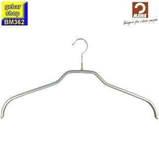 MAWA Kleiderbügel Silhouette 41/F, silberfarben