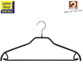 MAWA Kleiderbügel Silhouette 41/FRS, schwarz