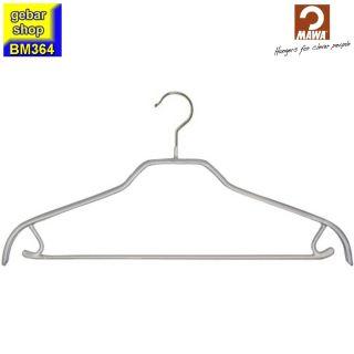 MAWA Kleiderbügel Silhouette 41/FRS, silberfarben