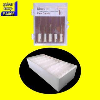 5 Ersatznadel N4-X Kombinadel fein und 5.000 Fäden 35mm