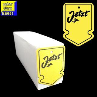 Aktionsetiketten 40x60mm Druck JETZT 500 Stück gelb