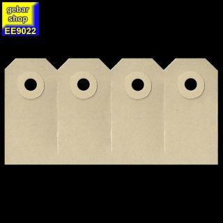 Manila Etiketten 30x60mm zu 4 Stück Pappöse 200 Stück/PG