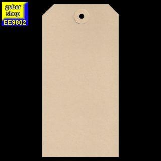 Manila Etiketten 80x160mm Pappöse 200 Stück/Karton