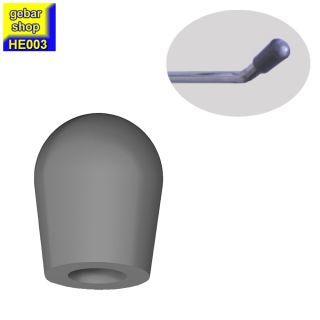 10 Stück Gummikappe für Einzelhaken D 3,0 bis 4,0mm