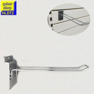 SB Haken Doppelhaken für Lamellen Paneele L 200mm D 4mm