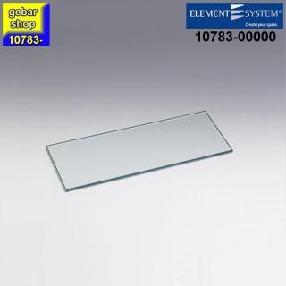 Element System Regal Glasboden Standard 400x150 klar