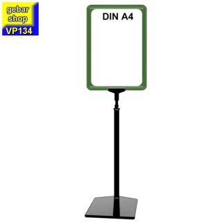 Plakatständer Set1 Rahmen DIN A4 grün