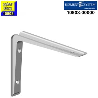 Element System Metall Konsole Alido 80x120 mm weiß