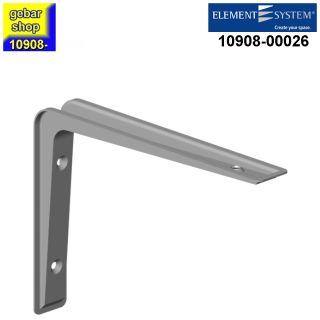 Element System Metall Konsole Alido 80x120 mm weißalu