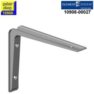 Element System Metall Konsole Alido 120x170mm weißalu