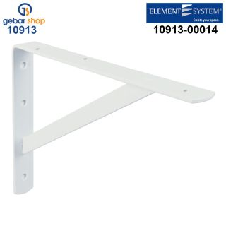 Element System Industriekonsole Samson 330x500 weiß