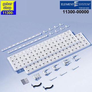Element System Werkzeug-Aufhängeset 1 Regal 800x400 weiß