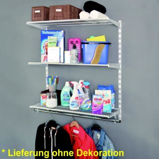 Element System Regal Set WALK-IN CLOSET  RS50 weiß
