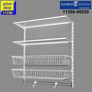 Element System Regal Set GARDEN = PERFECT 1  RS50 weiß