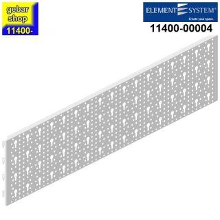 Element System 2x Stahllochplatte SL 800x200 weiß