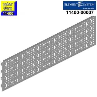 Element System 2x Stahllochplatte SL 800x200 weißalu