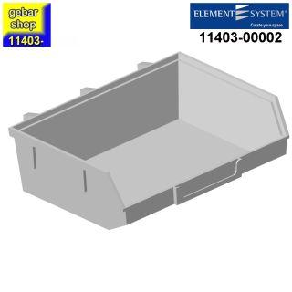 Element System Lochwand Minibox 135x90 H 40 weiß