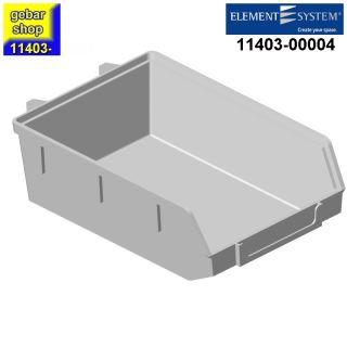 Element System Lochwand Minibox 90x135 H 40 weiß
