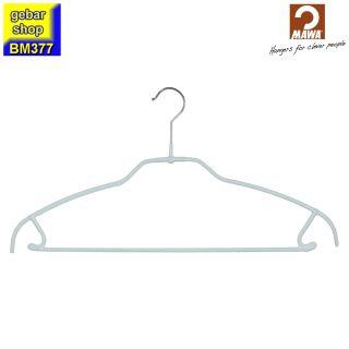 MAWA Kleiderbügel Silhouette light 42/FT/U, weiß