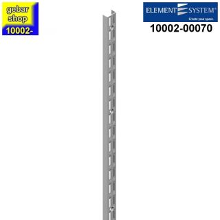 Element System 32 Wandschiene 2-reihig H 2060 weißalu