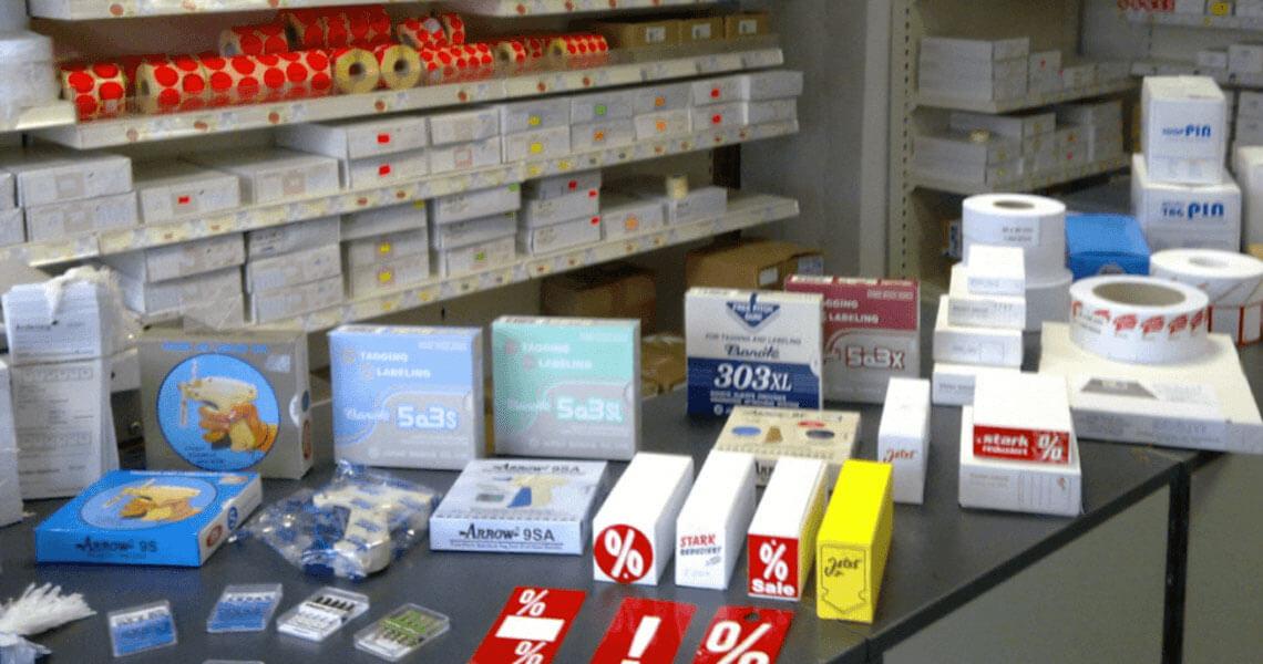 Heftpistolen, Etiketten & Zubehör